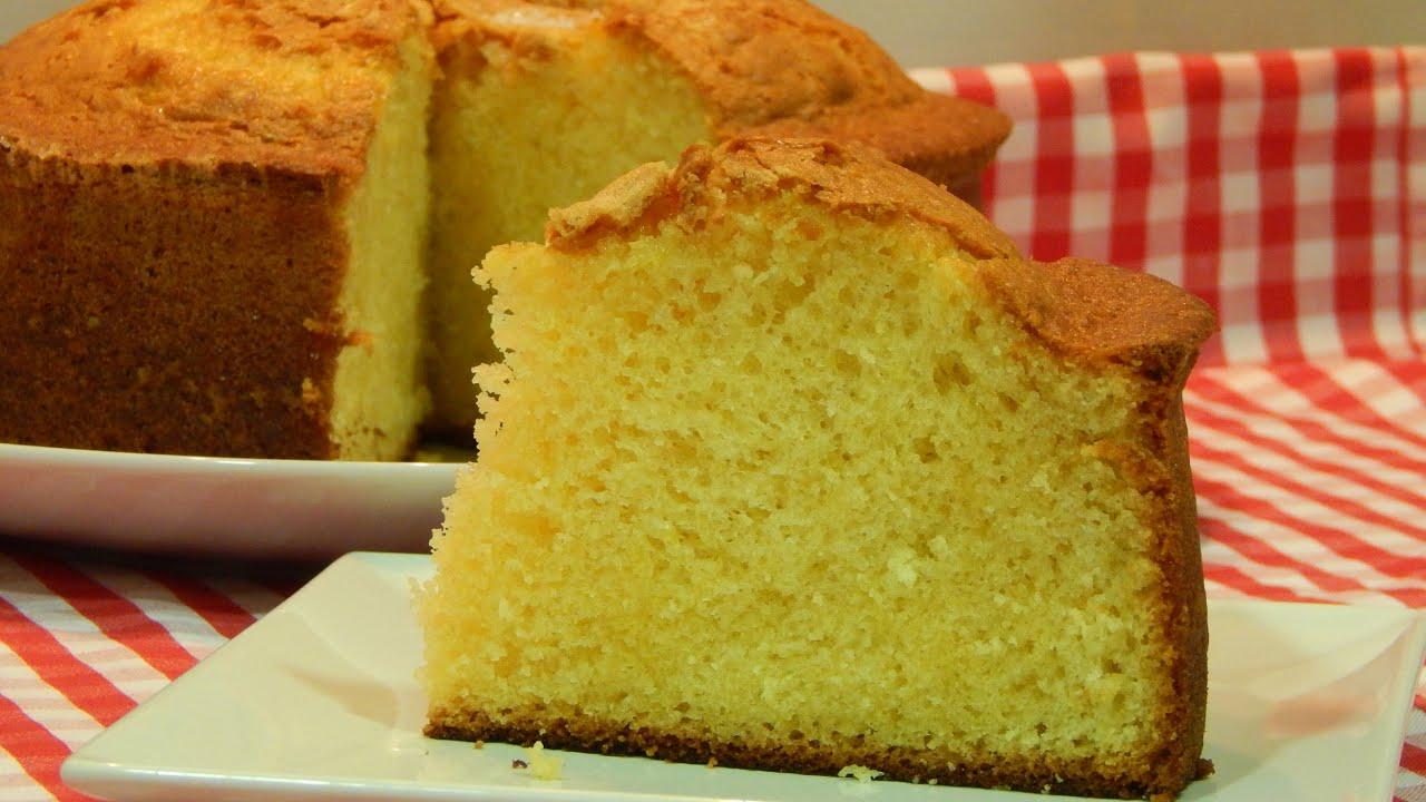 Bizcocho esponjoso de yogur de lim n receta f cil youtube - Bizcocho de limon esponjoso ...