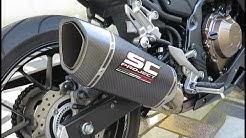 MODS for New Honda CBR500R (Exhaust sound and more)