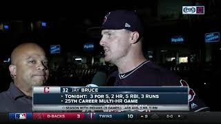 Jay Bruce's two-homer, five RBI night ends with fireworks 2017 Video