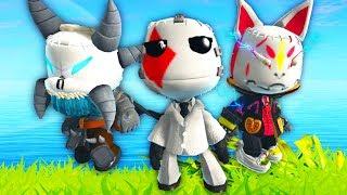 LittleBigPlanet 3 - New Fortnite Skins / Costume Showcase - Fortnite Battle Royale | EpicLBPTime