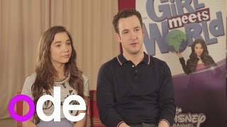 Girl Meets World: Rowan Blanchard and Ben Savage chat about new Disney show