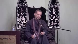 Majlis-e-Aza English 7th Muharram 1439 At Idara-e-Jaferia MD USA 9-28-2017 Br. Hasnain Rajab Ali
