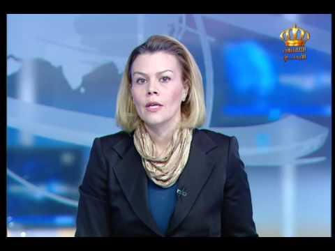 English News at Ten on Jordan Television 18-12-2016