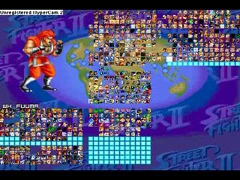 my mugen roster!! the best of the best   hands down! by
