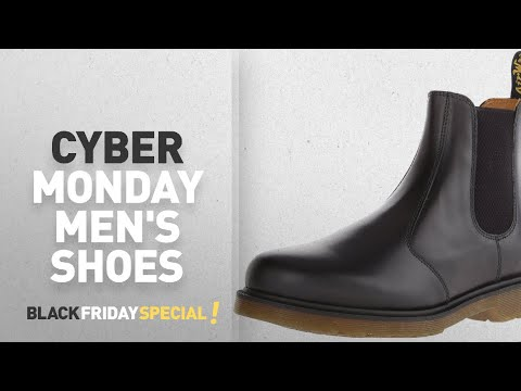 Cyber Monday Dr. Martens Men's Shoes: Dr. Martens 2976 Chelsea Boot,Black Smooth