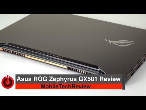 Asus ROG Zephyrus GX501 Review - GTX 1080 Max-Q Portable Powerhouse