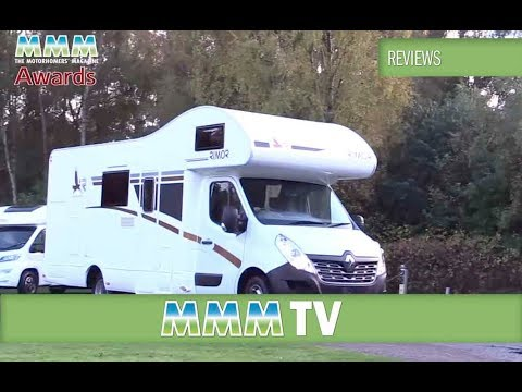 MMM TV motorhome review: Compact & Family Motorhomes of the Year 2016