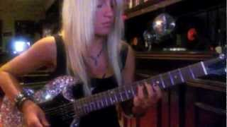 Laura Wilde - My Sharona Guitar Solo (Full Length)
