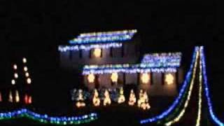 Christmas Light Show, Cranbury NJ, The H... 11 Years Ago