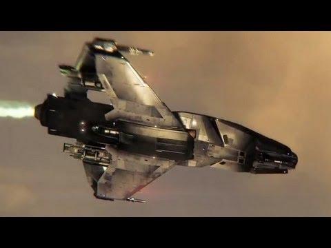 Star Citizen: Squadron 42 - Ingame-Trailer: Raumschiffserie »Origin 300« vorgestellt