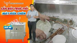 Máy rửa chén quán ăn giá rẻ nhất 2020| Máy rửa chén nhà hàng, bếp ăn công nghiệp