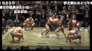 Йокодзуна Бямбадорж с легкостью победил 5 сумоистов