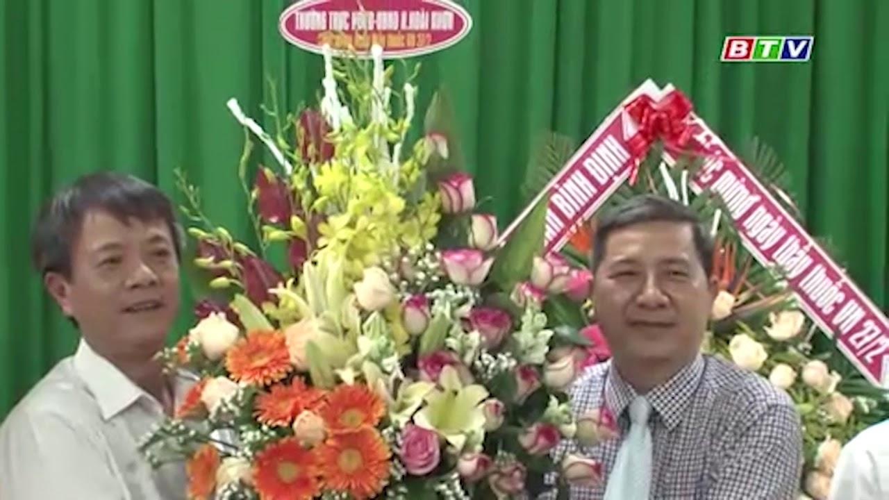 Lãnh đạo huyện Hoài Nhơn thăm kỉ niệm 65 năm ngày thầy thuốc Việt Nam