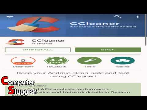 How To Download & Install CCleaner On Android Tutorial Review