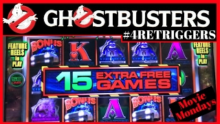 Ghostbusters BONUS with 4 RETRIGGERS!✦MOVIE MONDAYS✦ Live Play at Bellagio, Las Vegas