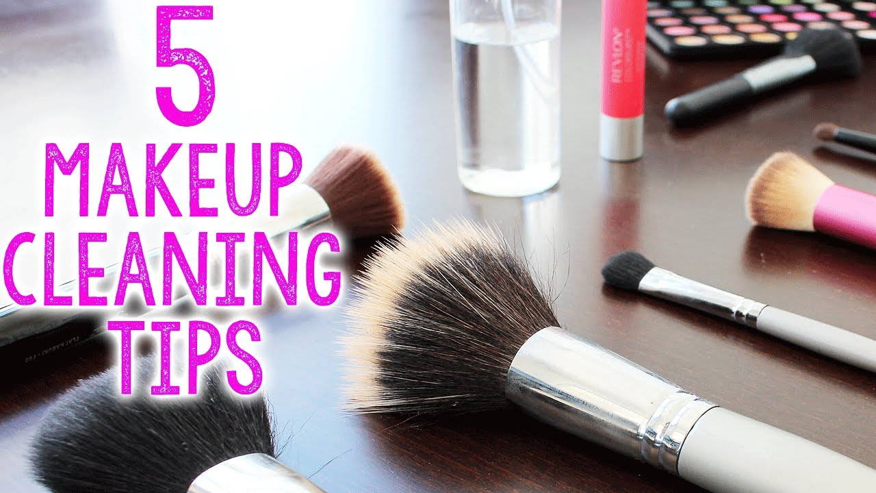 HOW TO  Clean Makeup Brushes d027236d6368