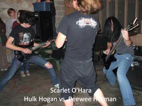 Scarlet O'Hara - Hulk Hogan vs. Peewee Herman