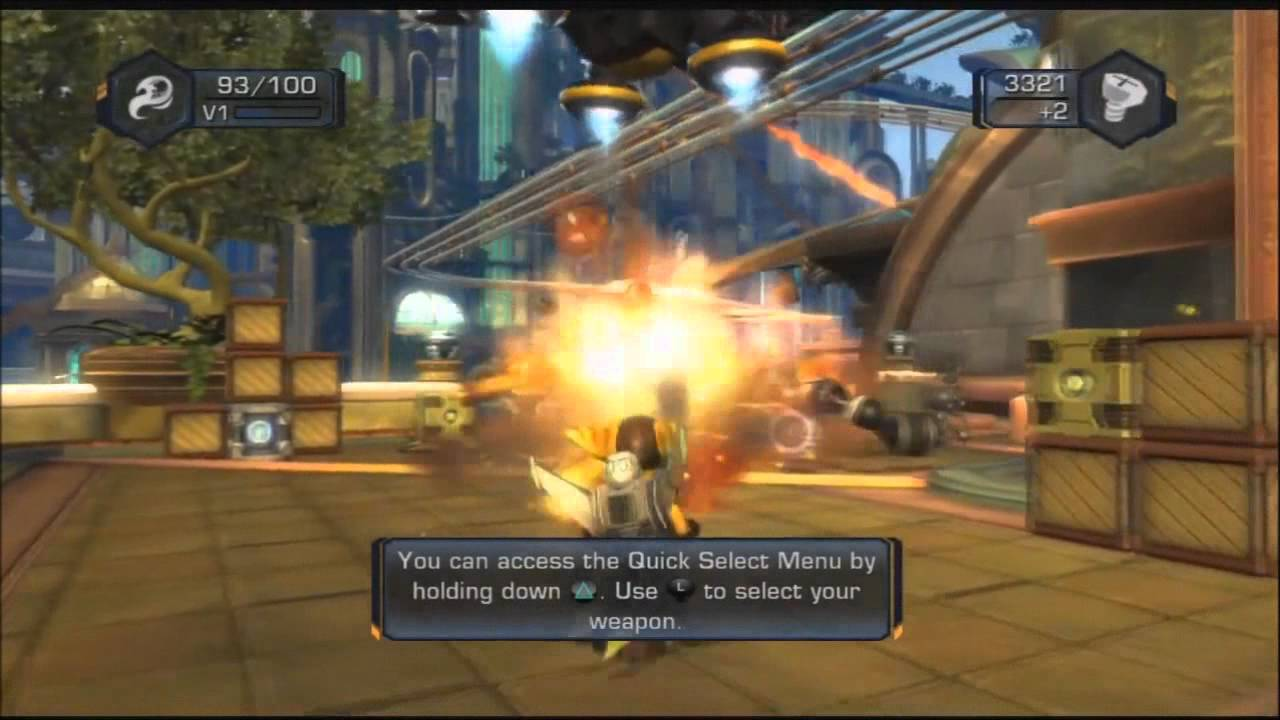 Ratchet Clank Future Tools Of Destruction Walkthrough Part 1
