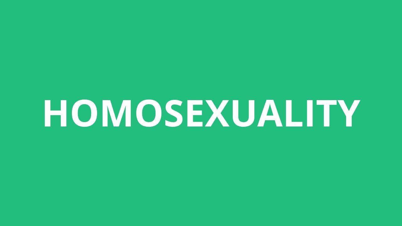 Heterosexual definition pronunciation