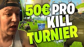 50 Euro pro Kill Turnier | Fortnite | SpontanaBlaack