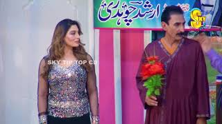 Iftikhar Thakur With Tariq Teddy and Khushboo Stage Drama Mr  Gaama Full Comedy Clip 2019