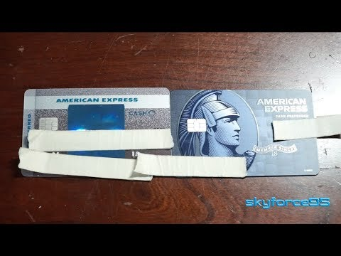 Updated American Express BCP Unboxing And Comparison