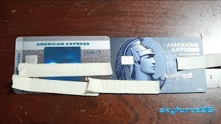 Updated American Express BCP Unboxing and Comparison Video