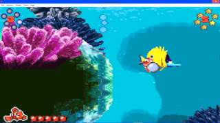 Finding Nemo Advance Gameplay Part 2 The Drop Off