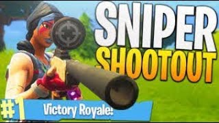 Sniper Shootout + Squads - Fortnite Battle Royale!