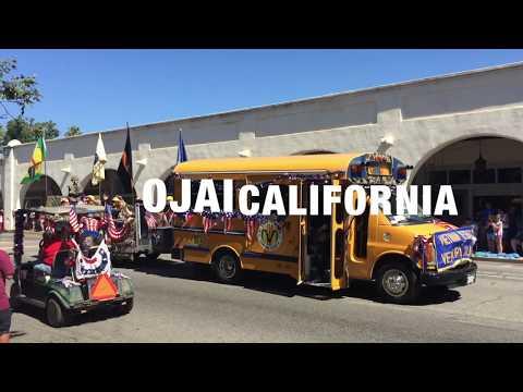 4th of July Parade 2017 Ojai California - Full Time RV Adventures