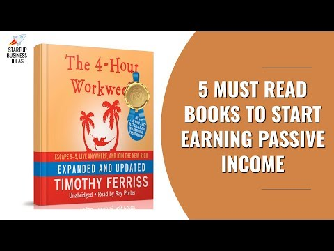 5 Must Read Books to Start Earning Passive Income