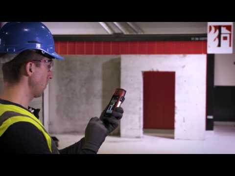 HOW TO use the measure from picture function on the Hilti PD-C laser range measurer