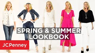 Spring & Summer Outfit Ideas 2019 with Busbee Style | JCPenney