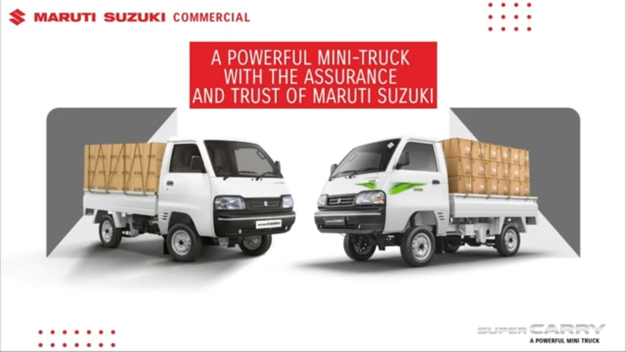 Maruti Suzuki Super Carry Bs6 Features Specifications Mileage Youtube