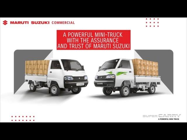 Maruti Suzuki Super Carry Bs6 - Features, Specifications & Mileage