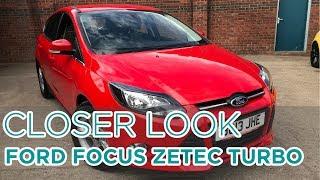 Closer Look: Ford Focus Zetec Turbo