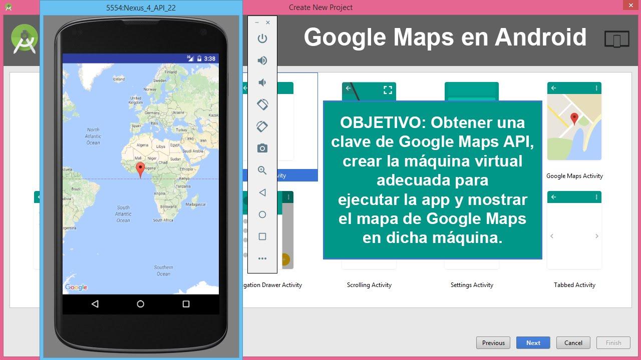 Google Maps En Android Studio Youtube