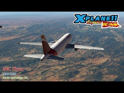 LECH-LEJR | A320 JarDesign | Six Airports IVAO | X-Plane 11