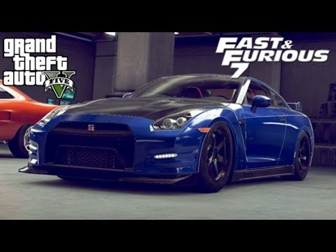 avoir la nissan gt r de fast furious gta 5 online youtube. Black Bedroom Furniture Sets. Home Design Ideas