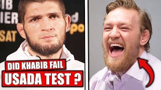 Rumor that Khabib failed USADA drug test?, McGregor deletes Khabib tweet, Anderson vs Blachowicz 2