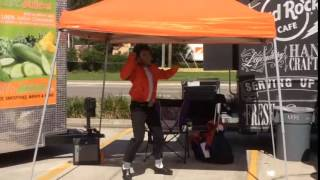 While at the Harley Davidson Tampa Food Truck Rally, there was a li...
