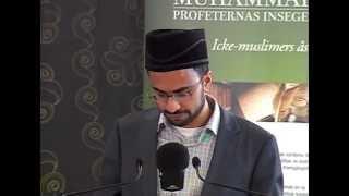 22:a Jalsa Salana Sverige 2013 - Tal av Imam Kashif Virk (Svenska)