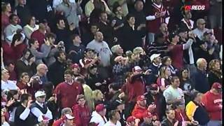 Cincinnati Reds 2010 NL Central Division Clinching Walk-off Home Run by Jay Bruce.