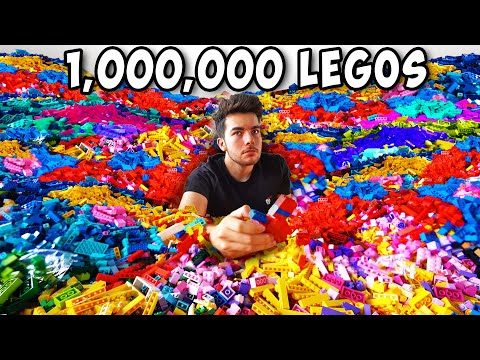 I Made A Huge Artwork With 1,000,000 Legos