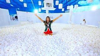 ONE MILLION MARSHMALLOWS IN A POOL!!!
