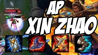 RP GIVEAWAY + AP XIN ZHAO INSANE DAMAGE | League of Legends