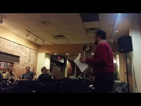 Anthony Zick Reads at Ann Arbor Poetry