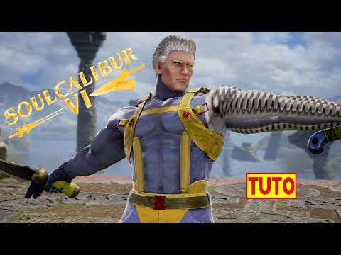 SOULCALIBUR 6 TUTORIAL : HOW TO MAKE CABLE