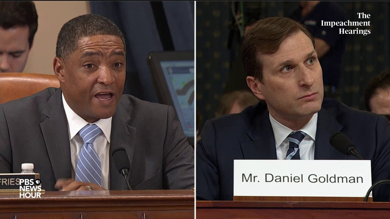 WATCH: Rep. Cedric Richmond's full questioning of Democratic counsel | Trump impeachment hearings