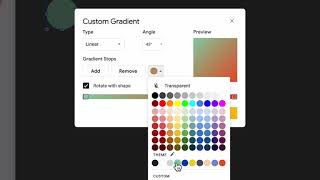 How to create a two-toned icon in Google Slides thumbnail